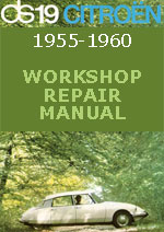 Citroen DS19 1955-1960 Workshop Repair Manual