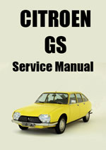 Citroen GS Workshop Manual