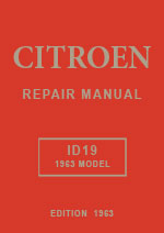 Citroen ID19 1963 Workshop Mannual